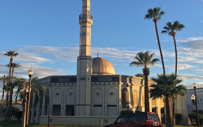 The Islamic Community Center of Tempe, one of the largest mosques in Arizona. (Photo by David Marino Jr./Cronkite News)