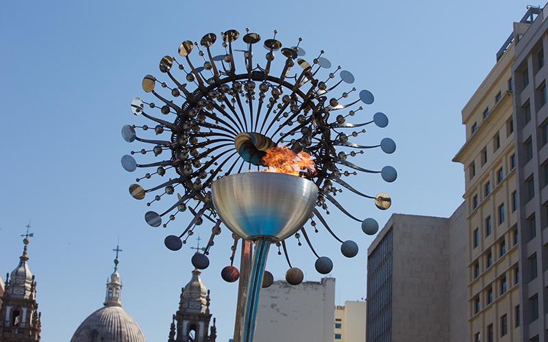 Rio Olympic cauldron breaks tradition   Cronkite News