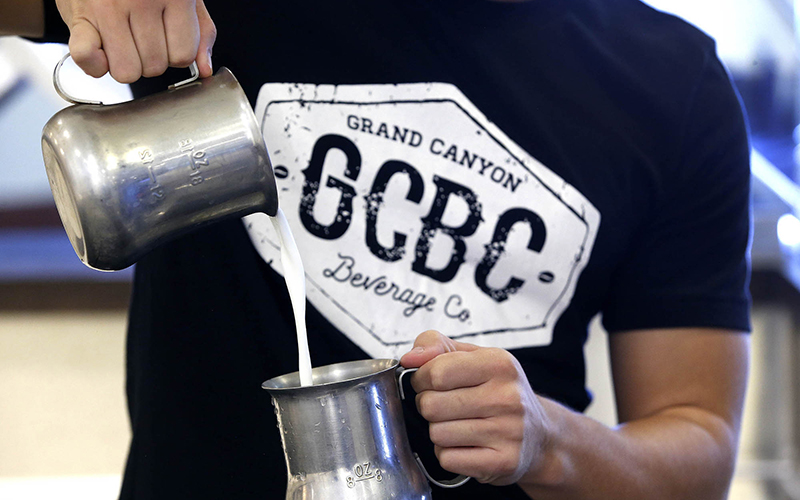 Grand Canyon Beverage Co. has two locations, one in the student union at Grand Canyon University and the other in the nearby west Phoenix neighborhood. (Photo courtesy of Grand Canyon University)