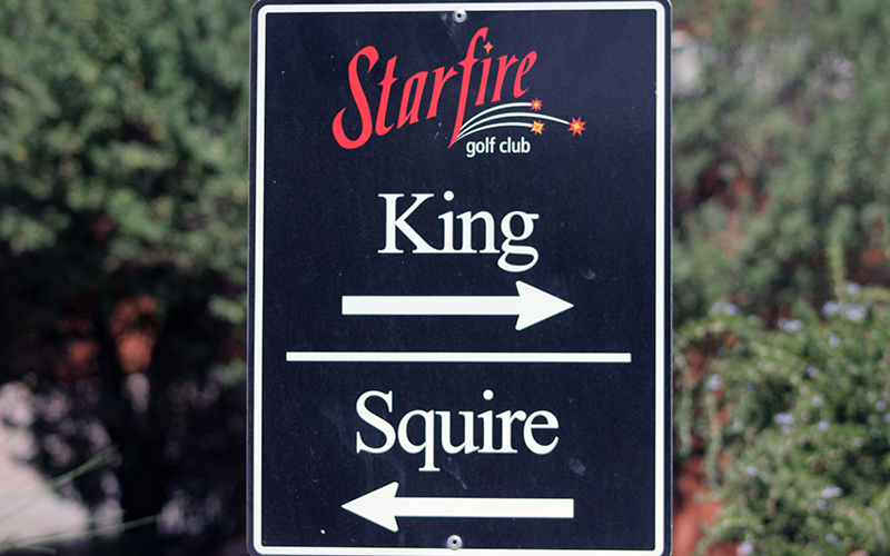 The King course is a 9-hole course at Starfire golf club in Scottsdale that Arnold Palmer designed. (Photo by Nicole Vasquez/Cronkite News)