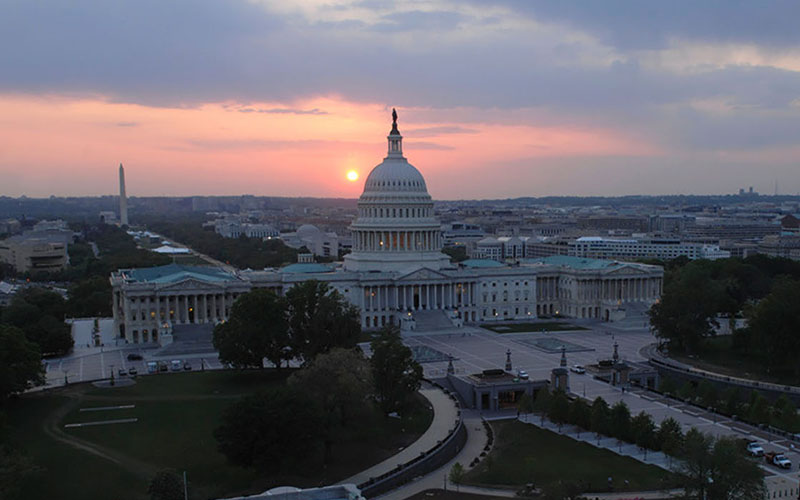 Congress returned from summer recess this month facing a full slate of issues - but with little time before an October recess and, experts say, little will in an election year. (Photo courtesy Architect of the Capitol)