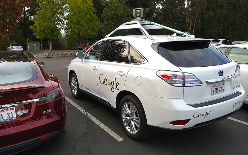 Google has been test-driving driverless cars - with humans in the front seat for now - in four states, including Arizona where outfitted Lexuses are tested in Chandler. (Photo by Steve Jurvetson/Creative Commons)