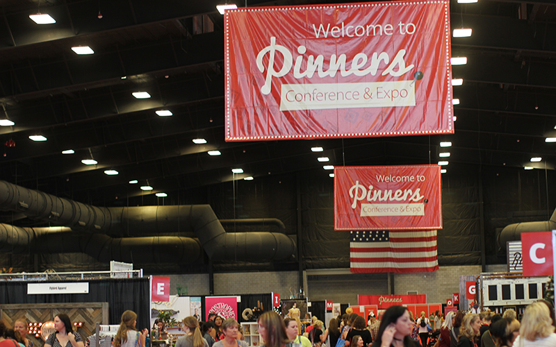 Nearly 10,000 people attended the Pinners conference in Scottsdale -- the first time the event has been held in Arizona. (Photo by Cassie Ronda/Cronkite News).