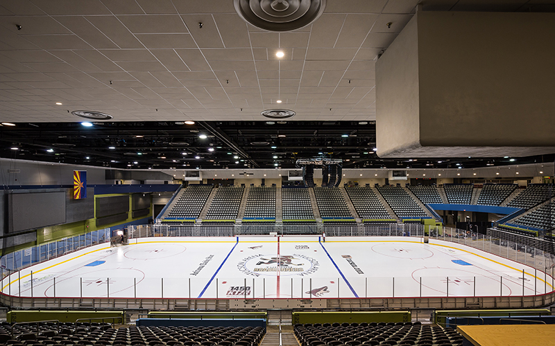 The Tucson Convention Center in downtown Tucson will serve as the home of the Tucson Roadrunners. (Photo courtesy Concord General Contracting)