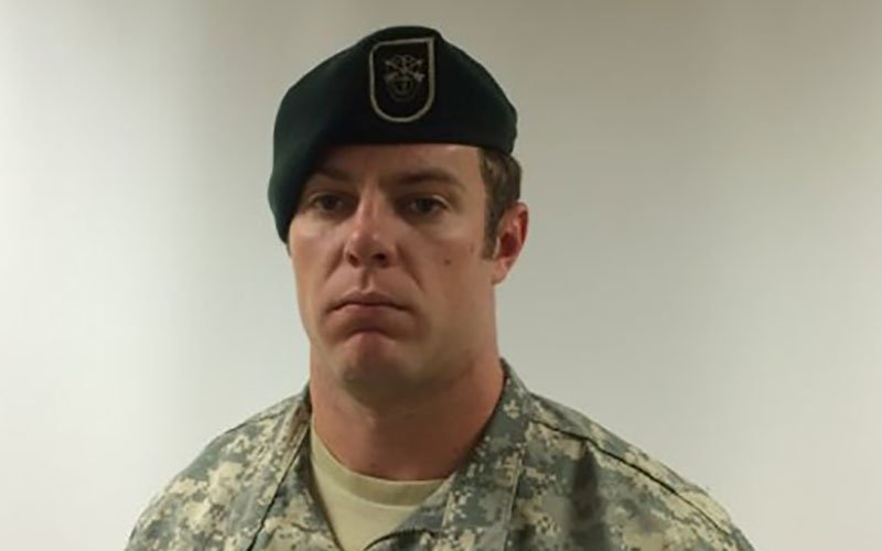 Staff Sgt. Kevin McEnroe, 30, of Tucson, was one of three Green Berets who died from injuries sustained from small-arms fire outside a military base in Jafr, Jordan, on Nov. 4 (Photo courtesy U.S. Army)