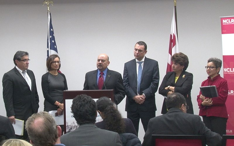 Latino organization leaders gathered at the National Council of La Raza in Washington to say they are ready to work with President-elect Donald Trump - but also ready to push back against harmful policies. (Photo by Sabella Scalise/Cronkite News)
