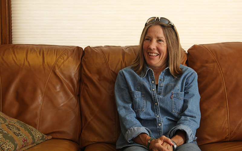 Mary Beth Hrin worked as a liaison between state Rep. Noel Campbell, R-Prescott, the rehabilitation industry and Prescott residents while developing a new law regulating sober living homes. (Photo by Joshua Bowling/Cronkite News)