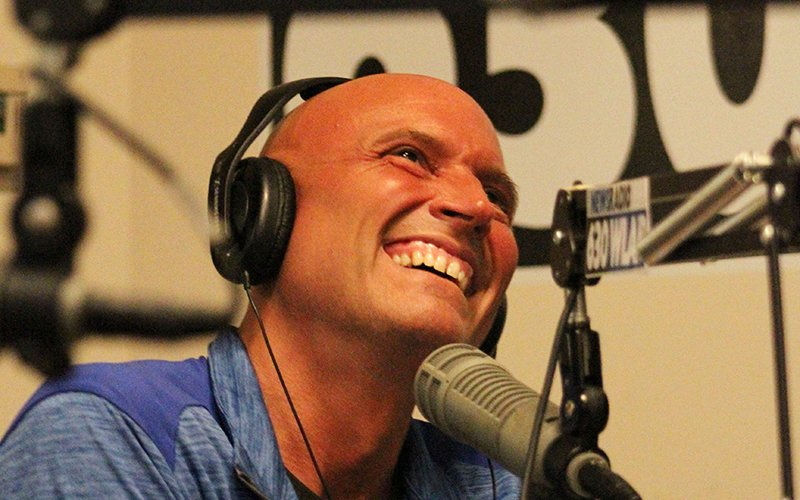 Rex Chapman is currently a color commentator for the University of Kentucky pre-game show on iHeart Radio in Lexington. (Photo by Trisha Garcia/Cronkite News)