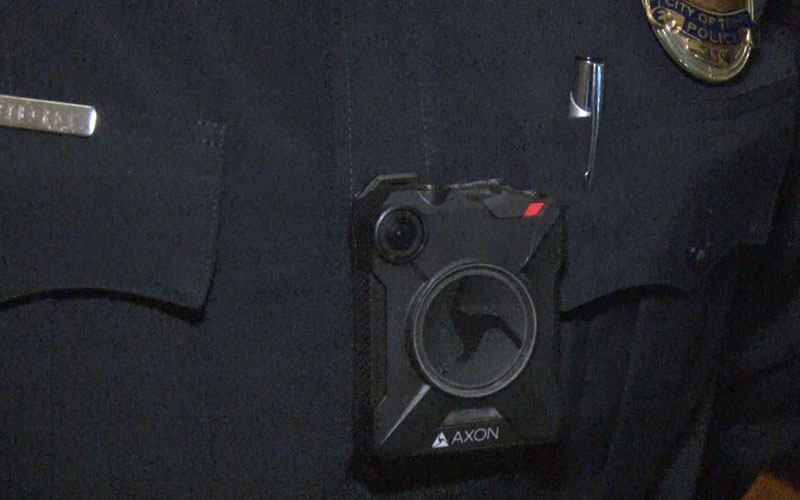 By November 2016, about 200 Tempe Police officers received body-worn cameras. An Arizona State University study shows they can improve relations between the police and the community. (Photo by Natalie Tarangioli/Cronkite News)