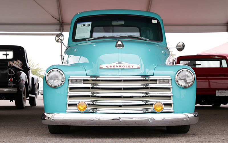 This 1954 Chevrolet 3100 Custom Pickup Sold At The 2017 Barrett Jackson Collector Car Show For Almost 63 000 Photo By Kaylin Burke Cronkite News