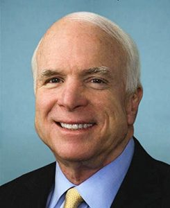 John McCain (Photo courtesy of United States Congress)