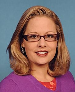 Kyrsten Sinema  (Photo courtesy of United States Congress)