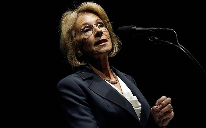 Arizona charter school advocates are excited by President-elect Donald Trump's nomination of school-choice champion Betsy DeVos for secretary of Education, but public school advocates are wary. (Photo by Mike Segar/Reuters)