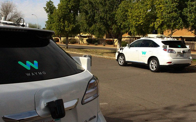 Waymo has been testing its self-driving cars in Chandler for nine months. (Photo by Erica Apodaca/Cronkite News)