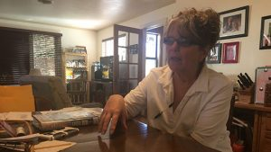 Bisbee resident Faye Hoese has lived in Bisbee since 1974, when she came into town in a Volkswagen van.
