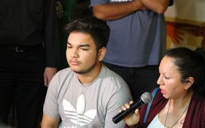 "Angel Rayos, 16, described his mother's deportation as a ""nightmare."" (Sophia Kunthara/Cronkite News)"