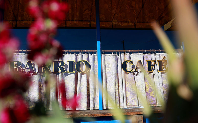 """Barrio Cafe closed three restaurants on Thursday to show solidarity on """"A Day Without Immigrants,"""" to protest an immigration crackdown and highlight contributions of immigrants in the economy. (Photo taken by Taryn Martin/Cronkite News)"""