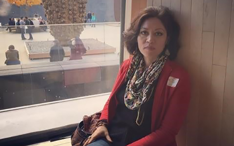 Leila Asadi, an Iranian studying in the U.S. on an F-1 visa, is one of more than 260 students from the seven countries identified in a temporary travel ban issued by President Donald Trump. (Photo courtesy Leila Asadi)