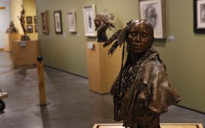 Western Spirit: Scottsdale's Museum of the West focuses on western art and culture of 19 western states and parts of Canada. (Photo by Charlie Clark/Cronkite News)