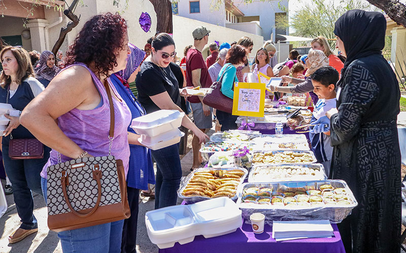 how to help syrian refugees in arizona