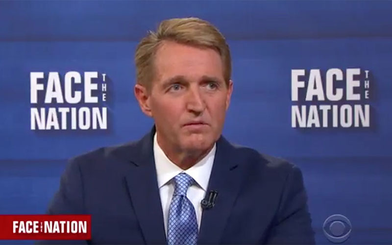 Sen. Flake faults political partisanship for Trump rise in new book