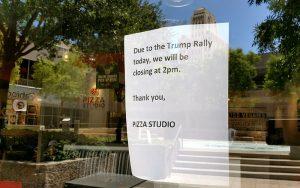 Business closures