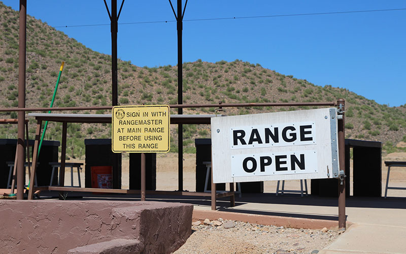 Rio Salado Sportsman's Club shooting range