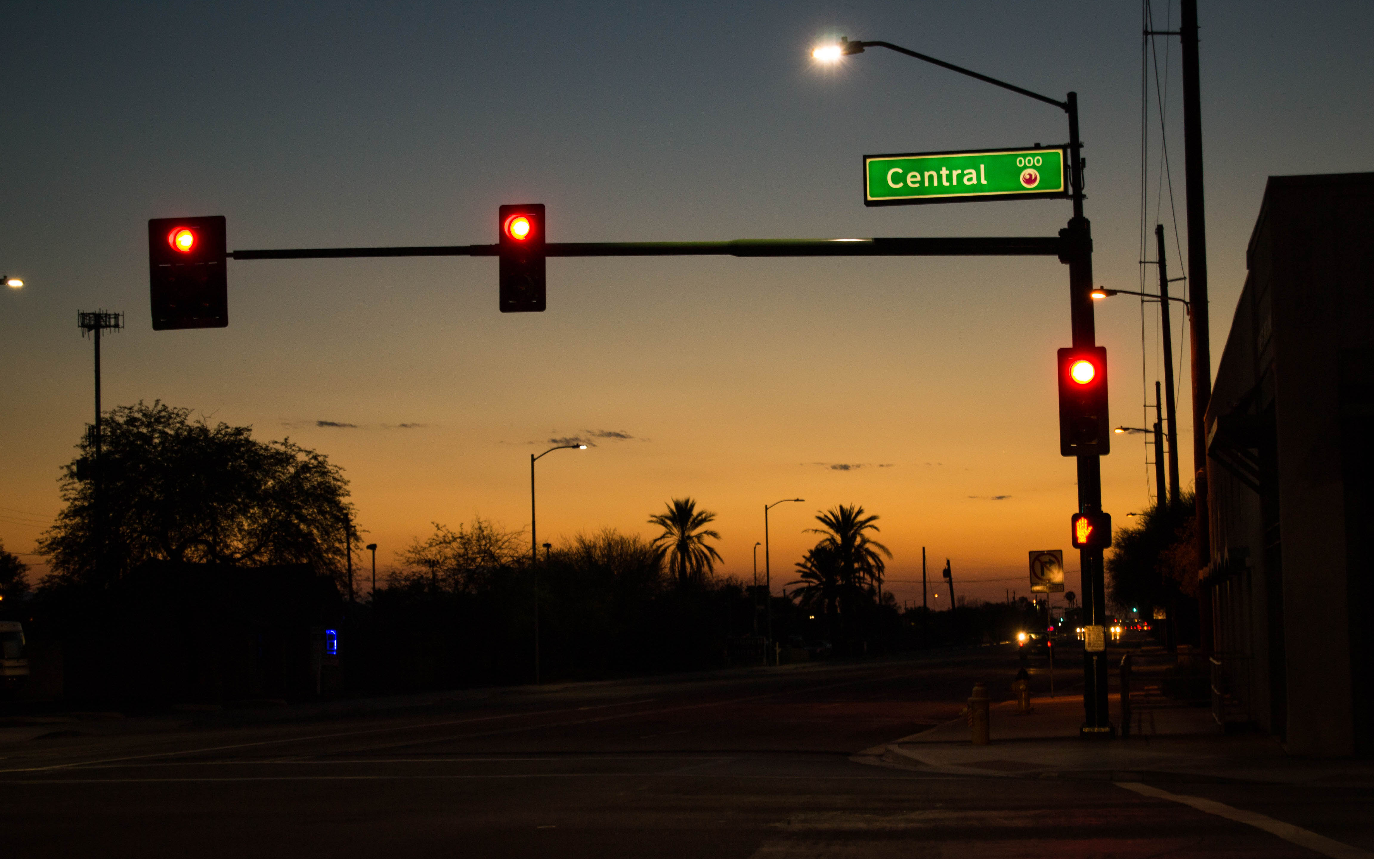 Central Avenue sign