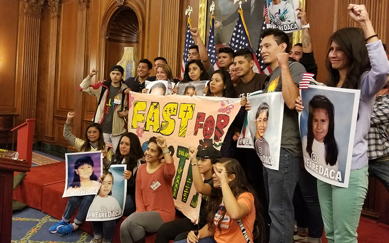 Trump's DACA Bigotry Backfires As Democrats Vow To Attach The DREAM Act To Bills Until It Passes