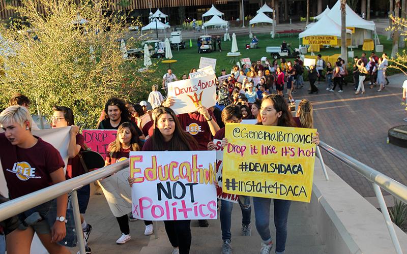 DACA march