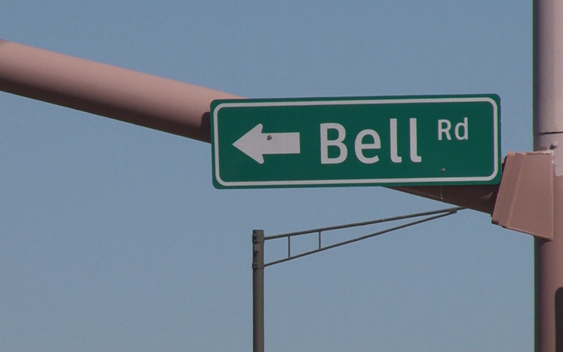 Bell Road sign