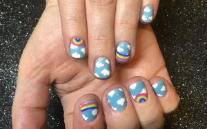Nail designs by Sarah Waite.
