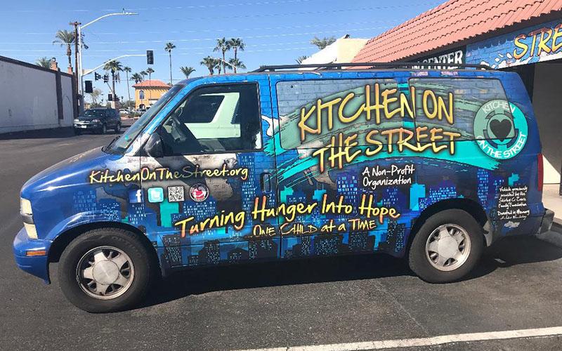 Kitchen On the Street van