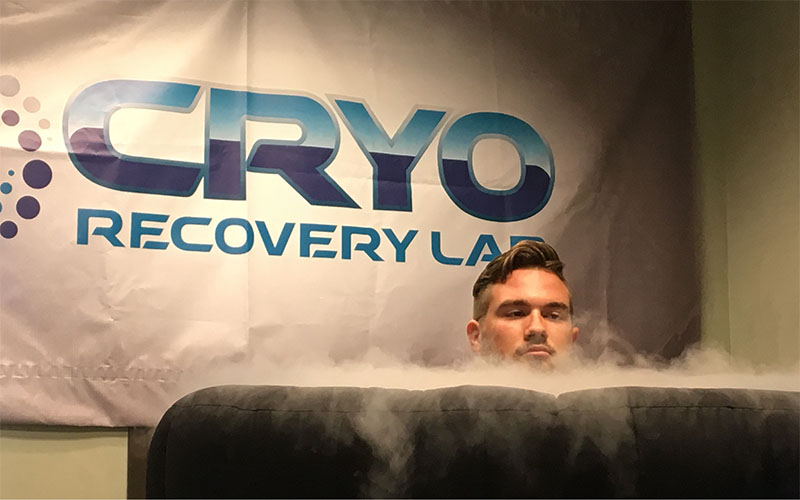 Whole body cryotherapy gaining popularity