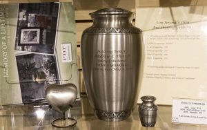 Messinger Mortuary urn