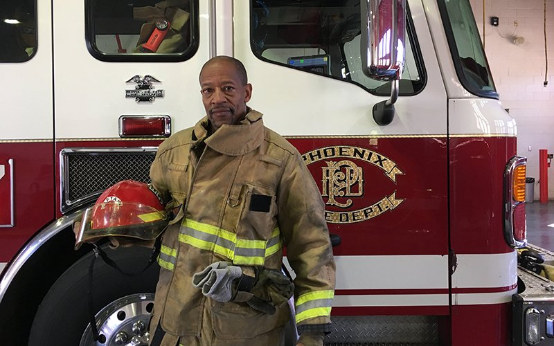 black firefighter shares life lessons on and off job cronkite news