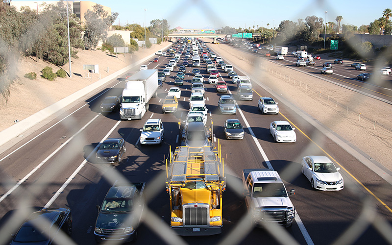Vehicle crashes and fatalities continued to rise in 2017, ADOT