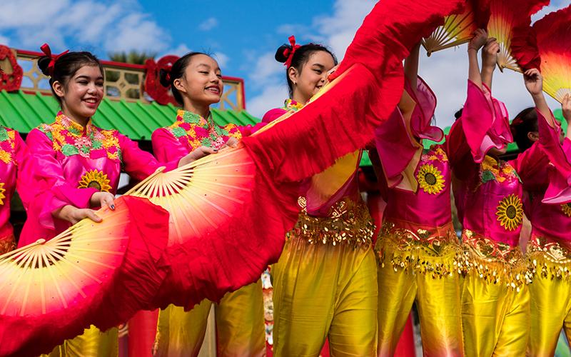 Found asian festival phoenix cleared
