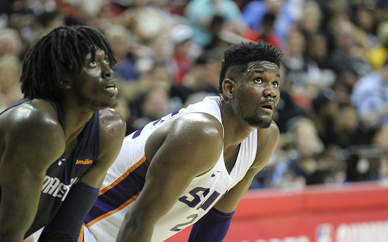 1 pick Deandre Ayton played in his first NBA Summer League game Friday 934464479