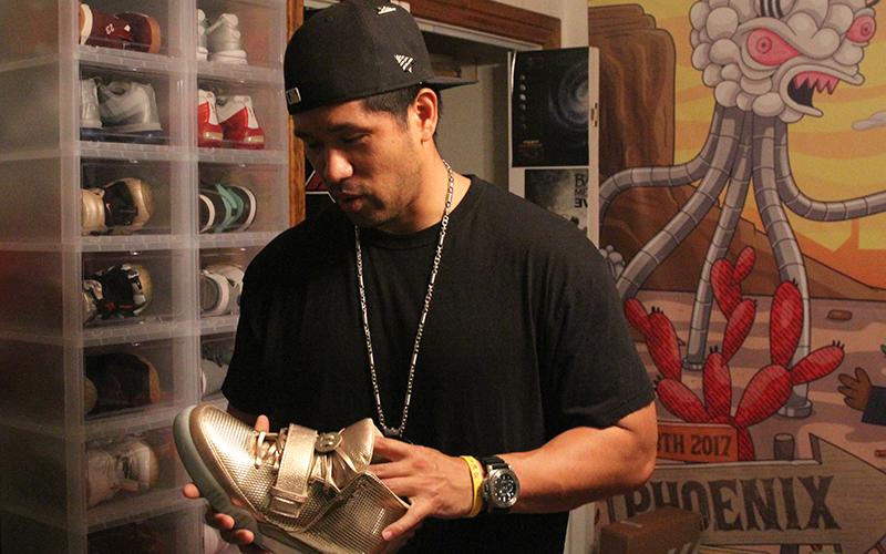 Just for kicks  Arizona sneakerheads pay big bucks for elite shoes ... 81c5d83ba