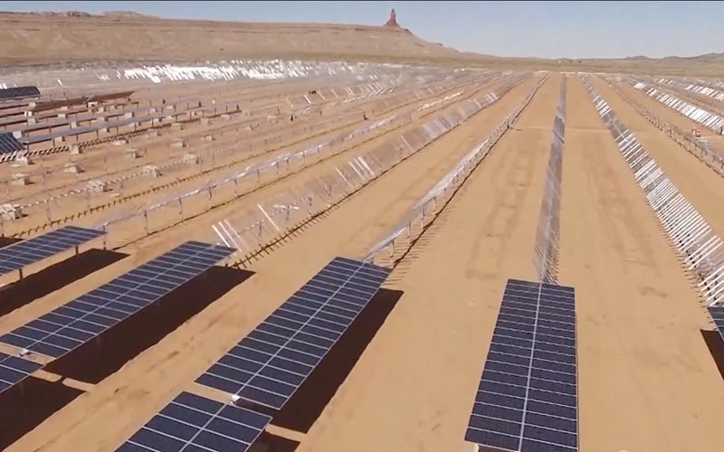 Tribally owned solar power plant beats skeptics, odds on