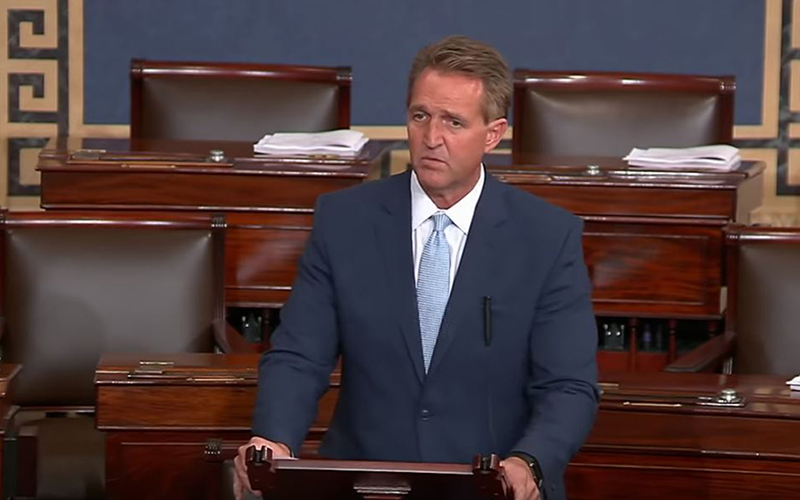 Flake calls for civility, open minds at hearing for Kavanaugh, Ford