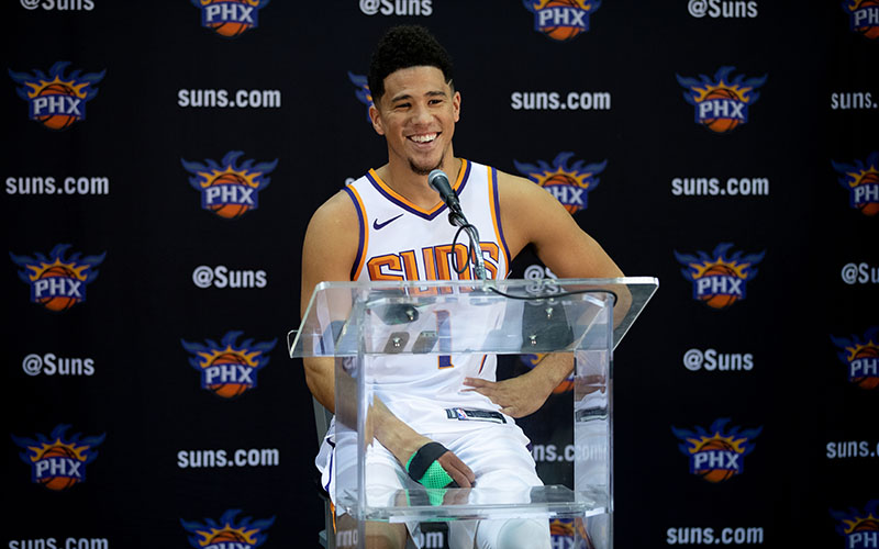 8e17b1b4b Devin Booker hopes to help Deandre Ayton get more wins