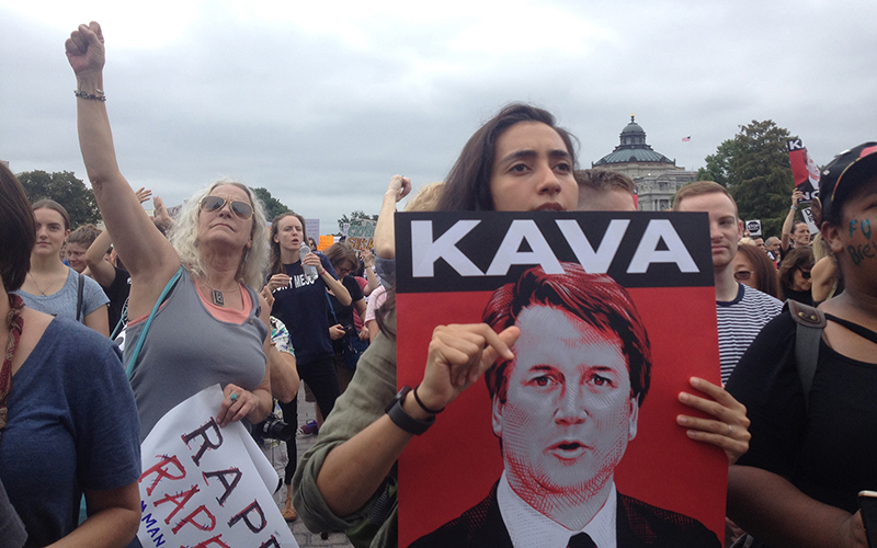 protestors on october 6