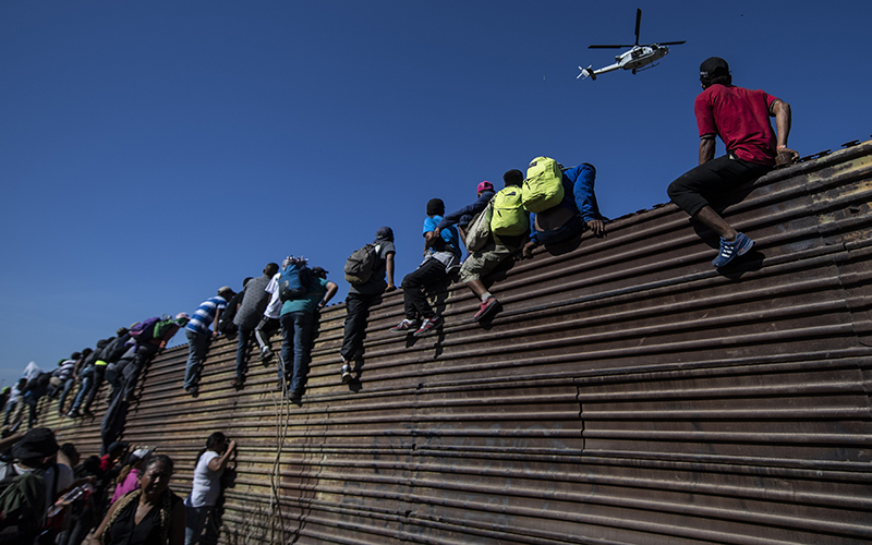 Asylum Seekers Coming Through The Southern Border Ordered