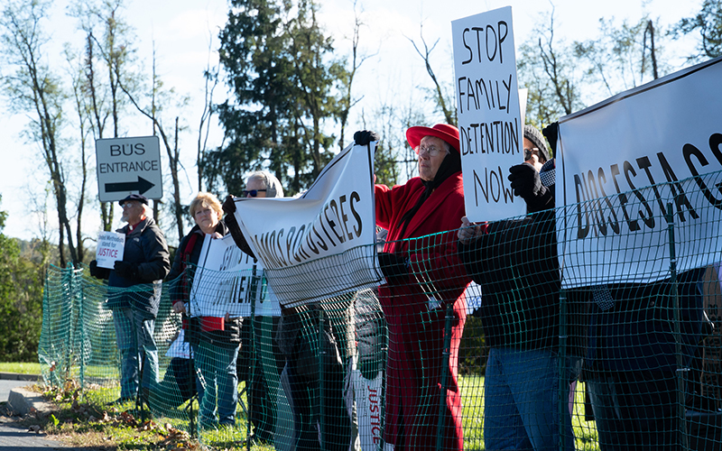 Family detention centers for immigrant families far from the