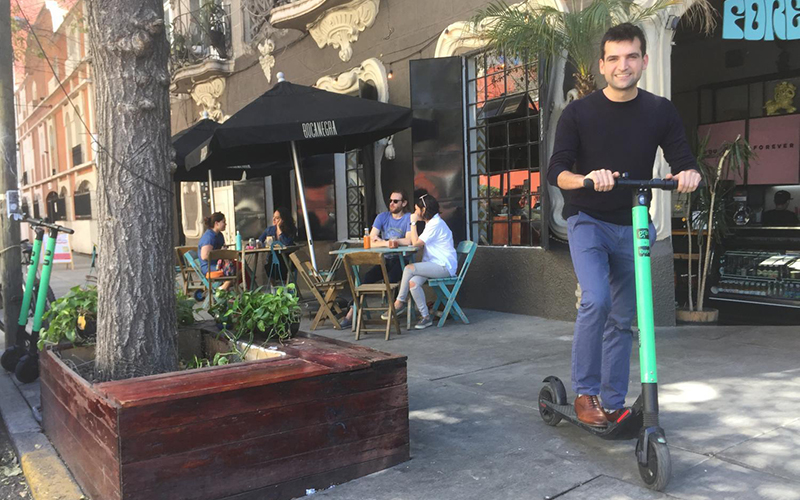 Electric scooter companies fight to keep rolling in Mexico and U.S.