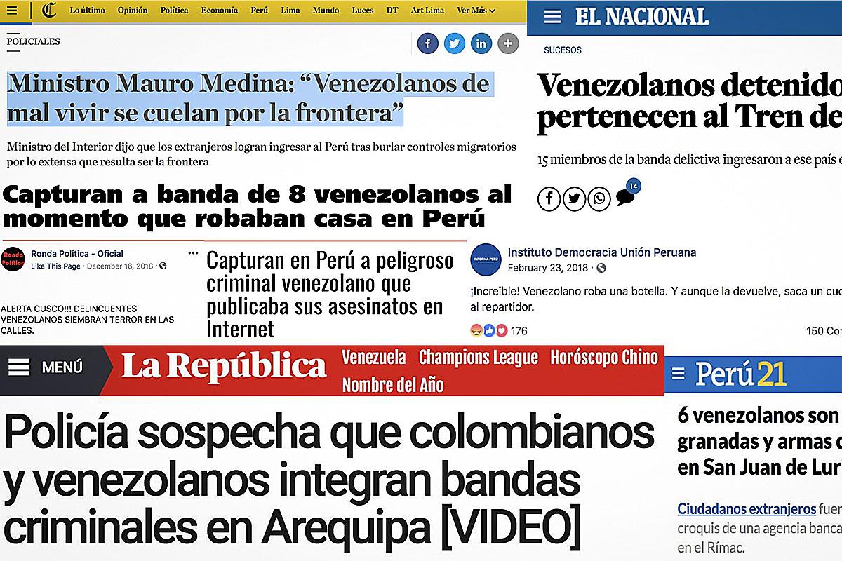 La Mia Casa Group focus on crime breeds misinformation about venezuelans in peru