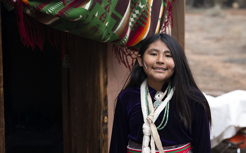 Kinaaldá: A Navajo girl comes of age in traditional ceremony
