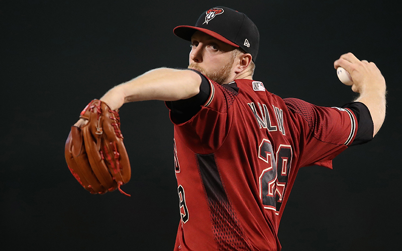 Merrill Kelly, Arizona Diamondbacks pitcher